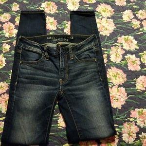 Women's American Eagle Super Stretch 00 Jeans